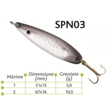 Lingurite oscilante Baracuda SPN 03