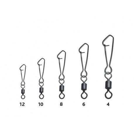 "X - Set 10 agrafe ""single lock"" cu vartej"
