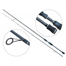 Lanseta fibra de carbon Baracuda Sooty 270