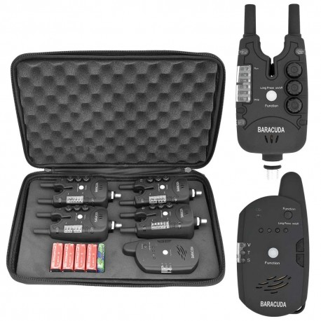 Set 4 avertizoare wireless TLI28 + receptor
