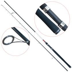 Lanseta fibra de carbon Baracuda Predator XP 2102