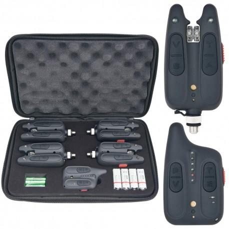 Set RF1118 cu 4 avertizoare wireless plus receptor