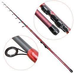 Lanseta fibra de carbon Baracuda Sniper 360