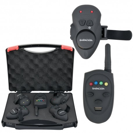Set 4 avertizoare wireless SG-V1 + receptor