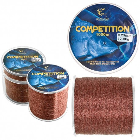 Nylon Baracuda Competition 1000m - 0,22mm