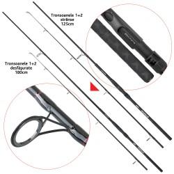 Lanseta fibra de carbon Baracuda Strong Carp 300