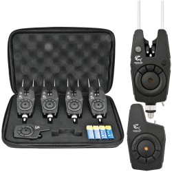 Set RF1688 cu 4 avertizoare wireless + receptor