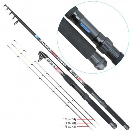 Lanseta fibra de carbon Baracuda Balance Tele Feeder