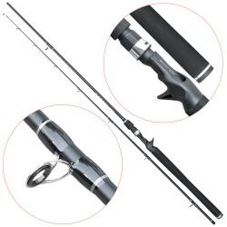 Lanseta fibra de carbon Baracuda Crack 2102