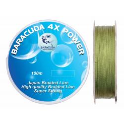 Fir textil Baracuda 4X Power 100m